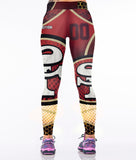 3D Print Quick-drying Sportswear Leggings Mujer Leggings Women Polyester Spandex High Quality - Justt Click