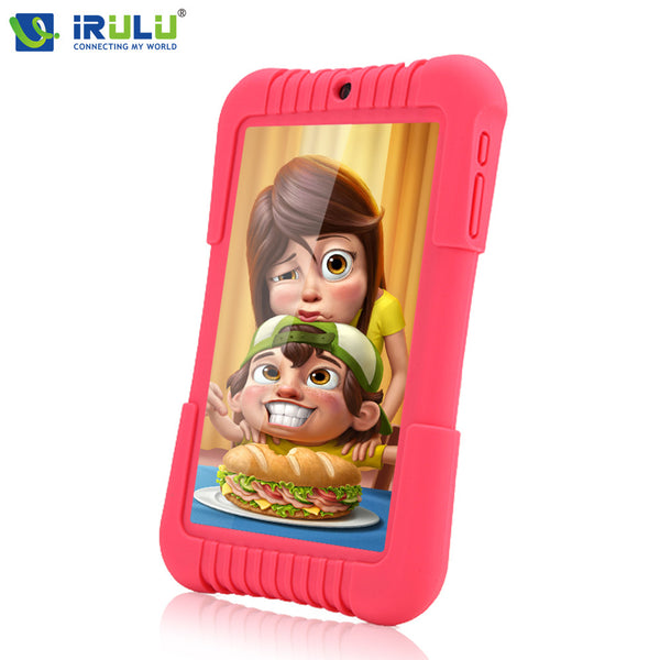 "Original iRULU Y3 7"" BabyPad For Kids GMS 1280*800 IPS Quad Core Android 5.1 Tablet-Justt Click"