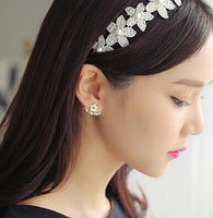 2017 New Fashion Jewelry Cute Cherry Blossoms Flower Stud Earrings S129-Justt Click