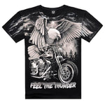 New Arrival 201 Brand Summer Men's Fashion Cotton Short-sleeve 3D Printed-Justt Click