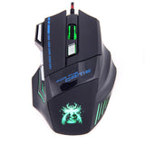 New USB laptop computer PC Wired gaming mouse-Justt Click
