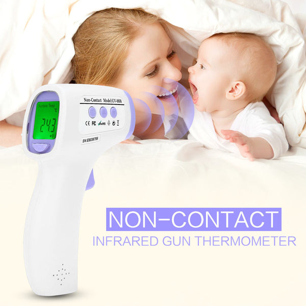 Professional Digital LCD Infrared Thermometer Non-contact IR Temperature Measurement-Justt Click