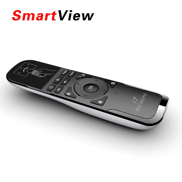 Rii Mini i7 2.4G Wireless mini Gaming Fly Air Mouse Remote Control for Android TV Box-Justt Click