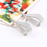 Hot Selling Earings Fashion Jewelry Korean Trend Rock Club Frosted-Justt Click