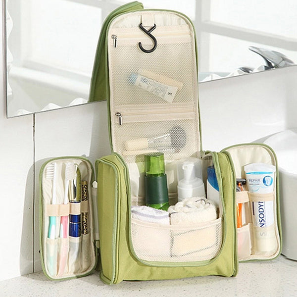 Travel organizer bag unisex women cosmetic bag hanging travel makeup bags washing toiletry kits storage bags-Justt Click