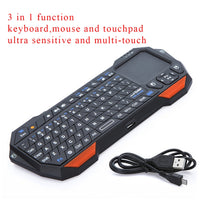 Utra thin and Lightweight 3 in 1 Mini Wireless Bluetooth Keyboards Mouse Mice Touchpad For Windows For Android For iOS APE-Justt Click