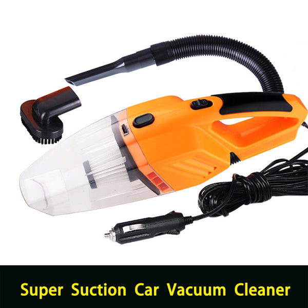 Multi-function Portable Car Vacuum Cleaner wet and dry dual use with power 120W 12V 5m of cable-Justt Click
