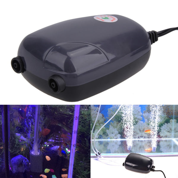 ASLT New Hot Sale 2 Air Bubble Disk Stone Aerator Aquarium Fish Tank-Justt Click