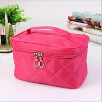 Cosmetic box 2017 new female Quilted professional cosmetic bag - Justt Click