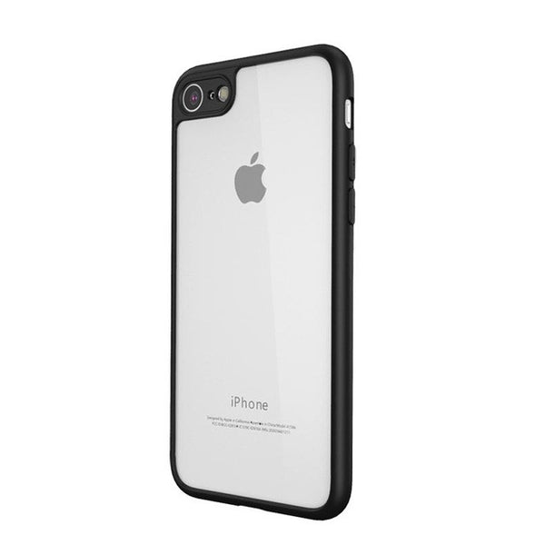 Original Qoowa brand slim high-end 0.28mm transparant silicon case for iphone-Justt Click
