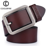 Newest Men Belt 100% Genuine Leather Belt For Men High Quality HQ025-Justt Click
