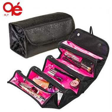 NEW arrival cosmetic bag fashion women makeup bag hanging toiletries travel kit jewelry organizer-Justt Click