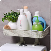 New PP plastic suction cup cosmetic storage rack toothbrush holder-Justt Click