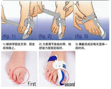 2pcs=1pair Hot Beetle-crusher Bone Ectropion Toes outer Appliance Professional Technology-Justt Click