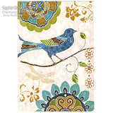 Diy Diamond Painting Cross Stitch Handcraft Embroidery Color Bird Animals-Justt Click