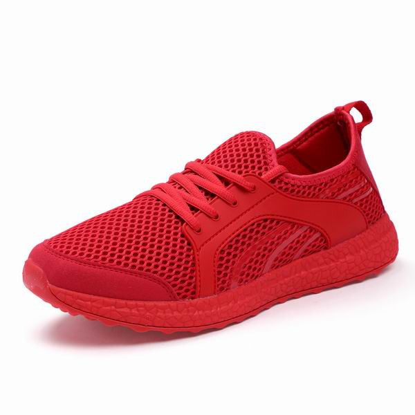 New Leisure Unisex Men Running Shoes Autumn Spring Breathable Sneakers-Justt Click