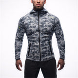 2018 Men Casual Hoodies Fitness Brand Clothing Camisetas Tracksuits Men Bodybuilding Sweatshirt Muscle Hooded Jackets-Justt Click