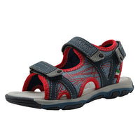 Apakowa 2017 Kids Sandals Open Toe Boys Sandals Textile Children Sandals Light-weight-Justt Click