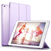 Case for iPad 9.7 inch PU Leather+Ultra Slim Light Weight PC Back Cover C-Justt Click