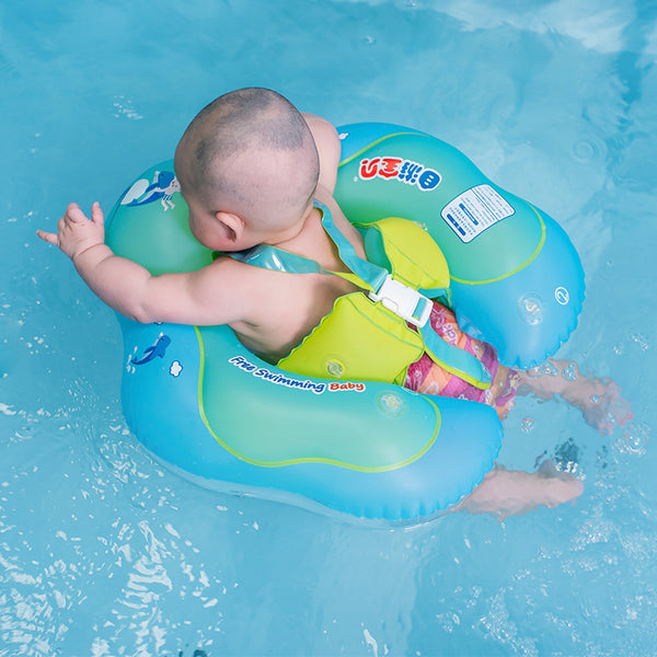 Baby Swimming Ring Inflatable Infant Armpit Floating Kids Swim Pool Accessories Circle Bathing Inflatable Double Raft Rings Toy - Justt Click