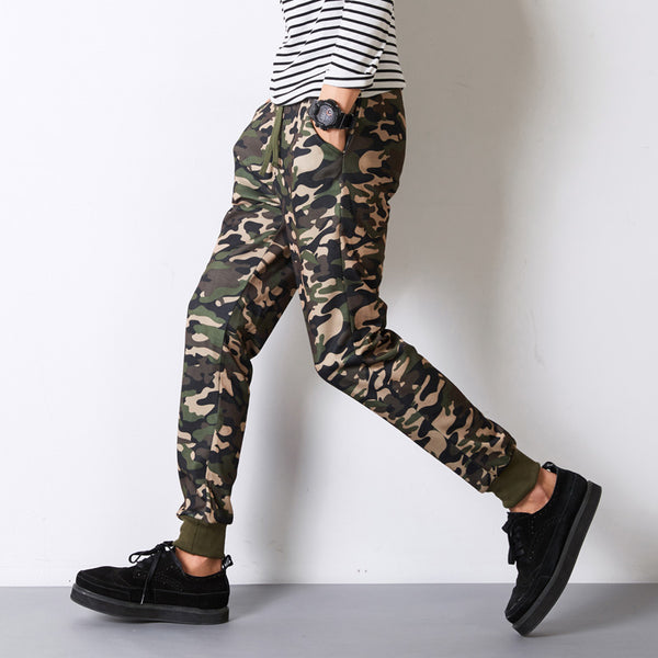 2017 Mens Jogger Pants Men Camouflage Military Pants Loose Trousers - Justt Click