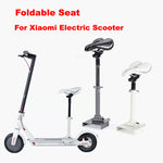 Electric Scooter Saddle Foldable Shock Absorbing Seat Cushion Comfortable Damping Chair for Xiaomi Electric Scooter-Justt Click