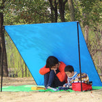 150X 200CM Oxford Fabric Outdoor Camping Hiking Traveling Rainshade Shade Cloth-Justt Click