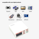 6 Ports Smart Mobile Phone Charger Desktop USB Charger for iPhone Samsung Quick Charger-Justt Click