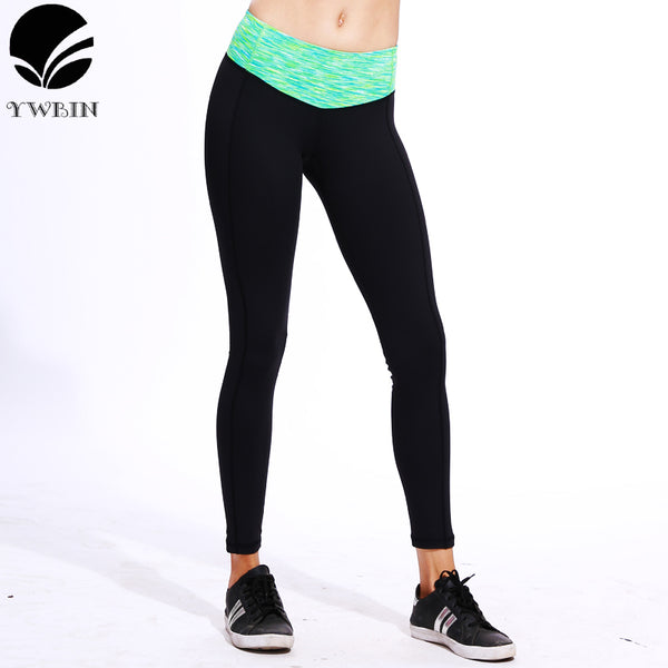 Sport pants with Zipper pocket Leggings Fitness High Waist Elastic Women Leggings Workout Pants Yoga Gym Running Brand Leggings-Justt Click