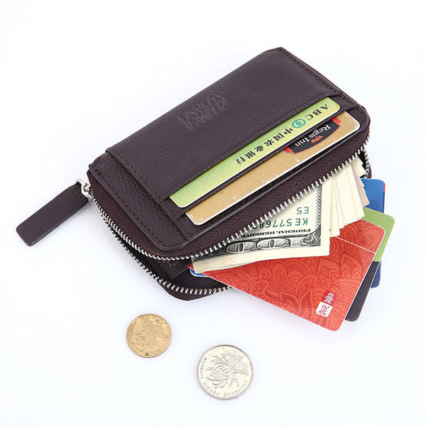 CUIKCA New Fashion Wallet Women Men Wallet Creative Mini Wallet Zipper Coins Slim Wallet Purse-Justt Click