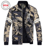 2018 Brand New Men's Bomber Casual Jacket Male Coat Camouflage Military Jacket-Justt Click