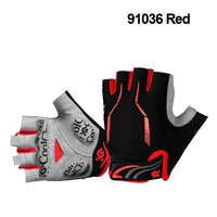 Cycling Gloves Half Finger Mens Women's Summer Sports Shockproof Bike Gloves GEL MTB Bicycle Gloves-Justt Click