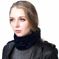 Women's Hat Skullies Beanies Polyester Knitted Hats Winter Warm Velvet Neck Scarf and Beanies Hats For Women-Justt Click