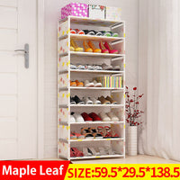 Shoes shelf Easy Assembled Non-woven Multi Layer Shoe Rack Shelf Storage Organizer Stand Holder Keep Room Neat Door Space Saving-Justt Click