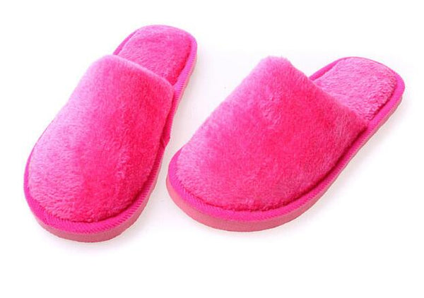Winter keep warm house slippers indoor floor slipper lover shoes-Justt Click