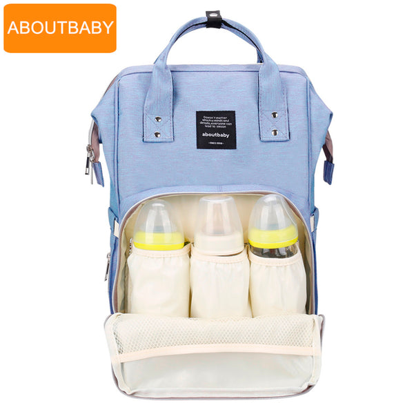 Baby diaper bag backpack designer diaper bags for mom mother maternity nappy bag for stroller organizer bag set accessories-Justt Click