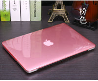 Crystal clear hard Cover Case For Macbook Air 11 13 Pro 13 15 Retina 12 13 15 inch Laptop bag for Mac Book pro 13 case-Justt Click