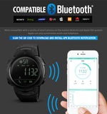 Smart Watch Bluetooth Pedometer Calorie Remote Camera Digital Wristwatches Fashion Sport Smartwatch For iPhone Android-Justt Click