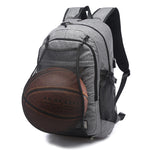 Sport Backpack Men Laptop Backpack School Bag For Teenager Boys Soccer Ball Pack Bag Gym Bags Male With Football Basketball Net - Justt Click