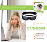 KIKI.New Air pressure Eye massager with mp3.6 functions.Dispel eye bags-Justt Click