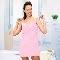 Sexy Women Beach Towel Soft Microfiber Fabric Pink Wearable Bath Towels Super Absorbent Girl Bathrobe 150x70cm Hot-Justt Click