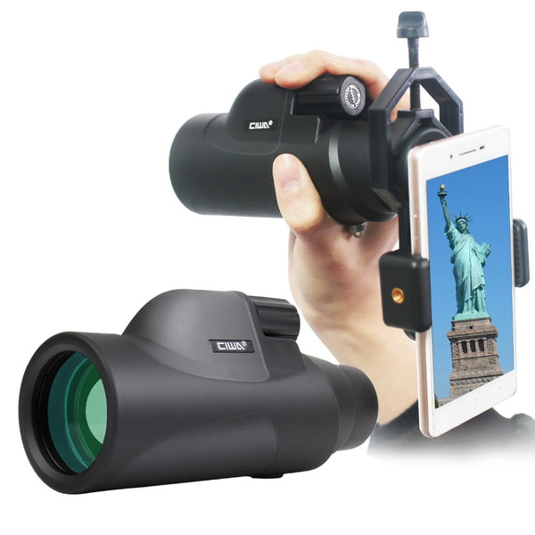Waterproof Black Monocular Telescope vision king Night Vision Handheld Monocular Professional Hunting Telescope-Justt Click