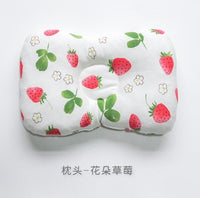 Baby Pillow Newborn Head Protection Cushion Baby Bedding Infant Nursing Pillow Toddler Sleep Positioner Anti Roll-Justt Click