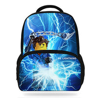2018 Hot Popluar Movie Ninjago Print Children Backpacks For Teenage Girls School Bags LEGO Book bags For Kids Boys - Justt Click