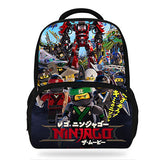 2018 Hot Popluar Movie Ninjago Print Children Backpacks For Teenage Girls School Bags LEGO Book bags For Kids Boys-Justt Click