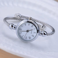 Simple silver women watches elegant small bracelet female clock 2018 BGG fashion brand roman dial retro ladies wristwatches gift-Justt Click