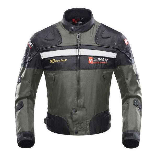 Motorcycle Jacket Motorbike Riding Jacket Windproof Motorcycle Full Body Protective Gear Armor Autumn Winter Moto Clothing-Justt Click