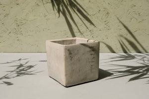 Square Concrete Pot - Dia: 7cm, 9cm, 13cm