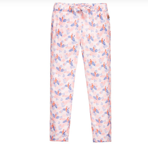 Carremont Beau Pink Viscose Trousers