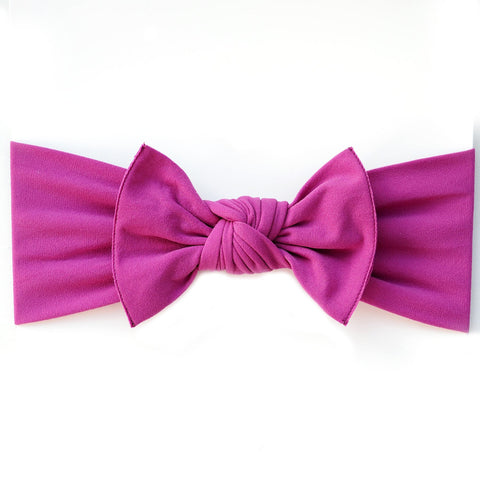 Little Bow Pip - Grape Pippa Bow